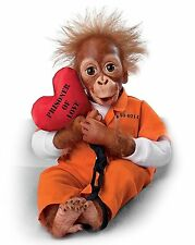 Ashton Drake PRISONER OF LOVE MONKEY So Truly Real Monkey Doll by Simon Laurens