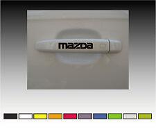 Manija de la puerta de Mazda Premium Calcomanías Pegatinas X2