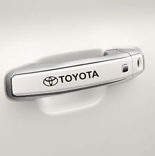 6x Car Door Handle Sticker fits Toyota Logo Adhesive Body-wear Vinyl N91