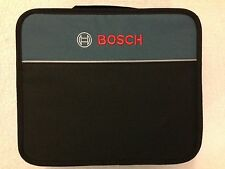 """New Bosch 12"""" x 10""""  x 4"""" Contractors Tool Bag with Inside Pocket"""