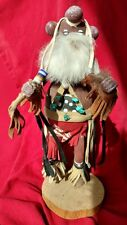 11 IN KACHINA DOLL NAVAJO MUDHEAD SIGNED NUMBERED AUTHENTIC NATIVE AMERICAN K35