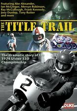 The Title Trail - The Story Of The 1974 Ulster 350cc Championship (New DVD)