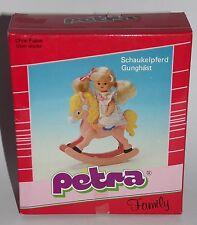 Petra Schaukelpferd OVP Rocking Horse Baby 80er 90er Jahre Vintage Family 3