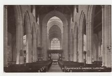 St. Lawrence's Church Ludlow Postcard, A850