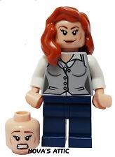 LEGO SUPER HÉROES LUISA LANE CABEZA DE DUELO MINIFIGURA GENUINO NUEVO
