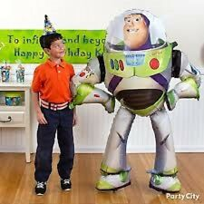 Toy Story-Buzz Lightyear Giant Gliding Balloon 53in