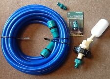 10m Mains water adapter kit for Aquaroll - Caravan + 10 mtr Food Grade Hose
