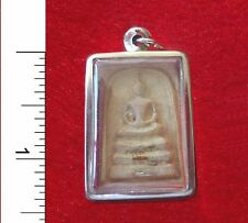 Thai Buddha Amulet from a Buddhist Temple in Bangkok                       20201
