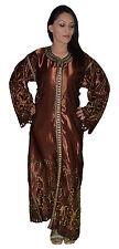 Wedding Gown Caftan Kaftan Handmade Moroccan Embroideries Abaya Double Piece