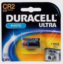 "NEW! ""DURACELL"" 3 volt Lithium Photo Camera Battery CR2 DLCR2 ELCR2 CR17355"