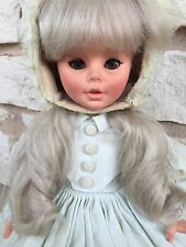 Vintage Furga GIRL Doll Made in Italy in original clothing 15 inches tall