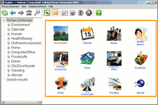 LingvoSoft Talking Picture Dictionary English Hebrew