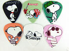 10pcs 0.71mm Two Sides Musical Basses Cartoon Snoopy Guitar Picks Plectrums