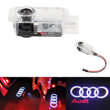 2 LED Logo Light Shadow Projector Car Door Courtesy Laser For Audi A4 A6 A8 Q5/7