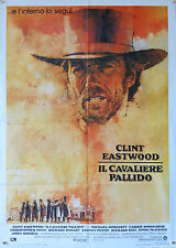 MANIFESTO, IL CAVALIERE PALLIDO, CLINT EASTWOOD, MORIARTY, PENN, WESTERN USA
