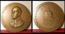 MEDAILLE BRONZE TRILLAT SCIENCES PHYSICIEN RAYONS X PHYSICIST