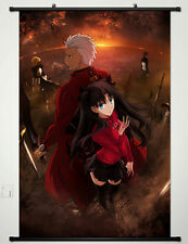 Anime Japan Fate/stay night Home Decor  POSTER WALL Scroll Rin Tohsaka Cos 428