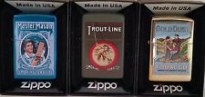 Zippo Lighters Tobacco Tin SET 3 of Tobacco Tin Series No 2 Limited Edition RARE