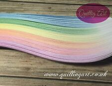 Quilling Papers 5mm  Mix Graduated,Shaded colours  (210 Strips x 297mm 120gsm)