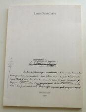 LOUIS SCUTENAIRE LE MONUMENT DE LA GUENON(SURREALISME BELGE) 1979 ED. AUGMENTEE