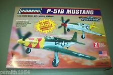 LINDBERG  NORTH AMERICAN  P-51 B MUSTANG   1:72 scale  kit