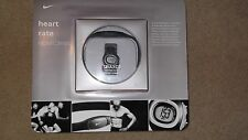 Nike watch Triax C3 heart monitoring New, Silver and Black, Excercise health