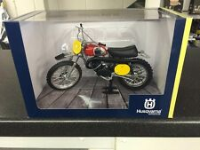 1970 Husqvarna 400 Cross Die Cast Model 1:12 Scale  Bengt Aberg Replica 400CR