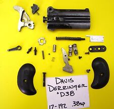 DAVIS DERRINGER D 38 IN 38 SP CAL. ALL THE PARTS PICTURED 4 ONE PRICE 17-192