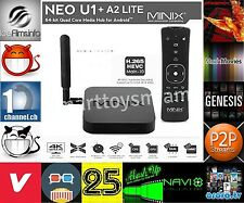 MINIX NEO U1 TV BOX Android 5.1 Lollipop S905 2G/16G +Addons/R Fully Loaded+ A2