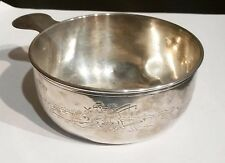 Antique Gorham Sterling Silver Child's Bowl Porringer