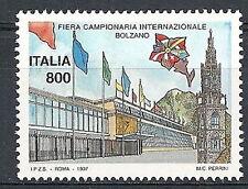1997 ITALIA LIBRO FIERA DI BOLZANO MNH **