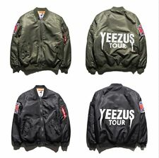 Yeezus Jacket Men Virgil Windbreaker 3 Yeezy Tour jacket high quality Chinese