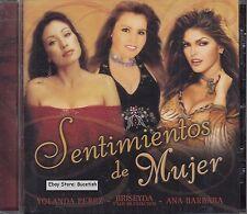 Yolanda Perez Briseyda Y Los Muchachos Ana Barabara Sentimientos de Mujer CD New