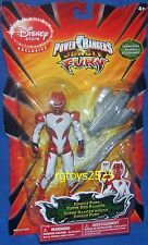 "Power Rangers Jungle Super Special 5"" Red Ranger New Disney Store Exclusive 2008"