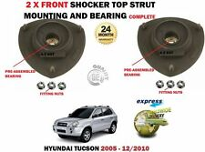 FOR HYUNDAI TUCSON 2004-2010 2X FRONT SHOCK ABSORBER RUBBER TOP MOUNTING BEARING