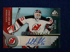 2005 06 SPGU Martin Brodeur Significance autograph  Devils #ed 2 of 100