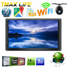 Android 4.4 7'' 2Din Video Quad-Core Radio GPS Car Stereo Autoradio Wifi 3G+cam