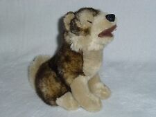 "Jaag 9"" Howling Husky Sled Dog Wolf Pup Sitting Plush Stuffed Animal 2013"