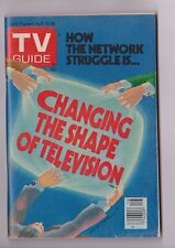 April 22-28 1978 Changing the Shape of Television TV Guide W/No Mailing Label