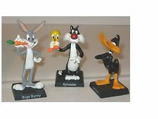 3   Looney Tunes Figuren Sylvester  Daffy Duck      Bugs Bunny  Hobby Work Neu