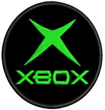 XBOX LOGO PATCH EMBROIDERED NEW
