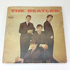 Introducing the Beatles LP 1062 Ver 2 Mono Vinyl ARC 2134 VJLP VEE JAY Oval VG