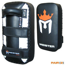 MEISTER MMA ELITE THAI PADS - Muay Thai Kick Strike Punch UFC Focus Mitts P