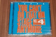 Zappa-You can 't do that on stage anymore vol.4 (2012) (2xcd) (ZR 3882) (Nuovo + OVP)