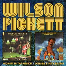 Wilson Pickett Pickett In The Pocket/Join Me & Let's Be Free CD NEW SEALED Soul