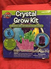 Crystal Growing Experiment Kit Children Science Lab Educational Learning Toy