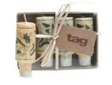 TAG Wine Stoppers Cork Candle, Set of 4 (710384)