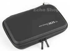 Black EVA Hard Protect Case For NITENDO 3DS XL LL Console With Game Holders