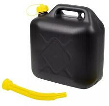 10L Litre Jerry Can Petrol Diesel Fuel Water Storage Container Can & Spout UPVC