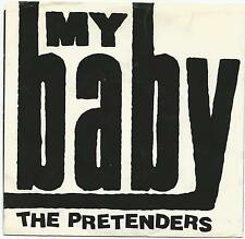 "PRETENDERS~MY BABY/ROOM FULL OF MIRRORS 1987 U.S. SIRE REC 28496 7"" SINGLE w/PS"